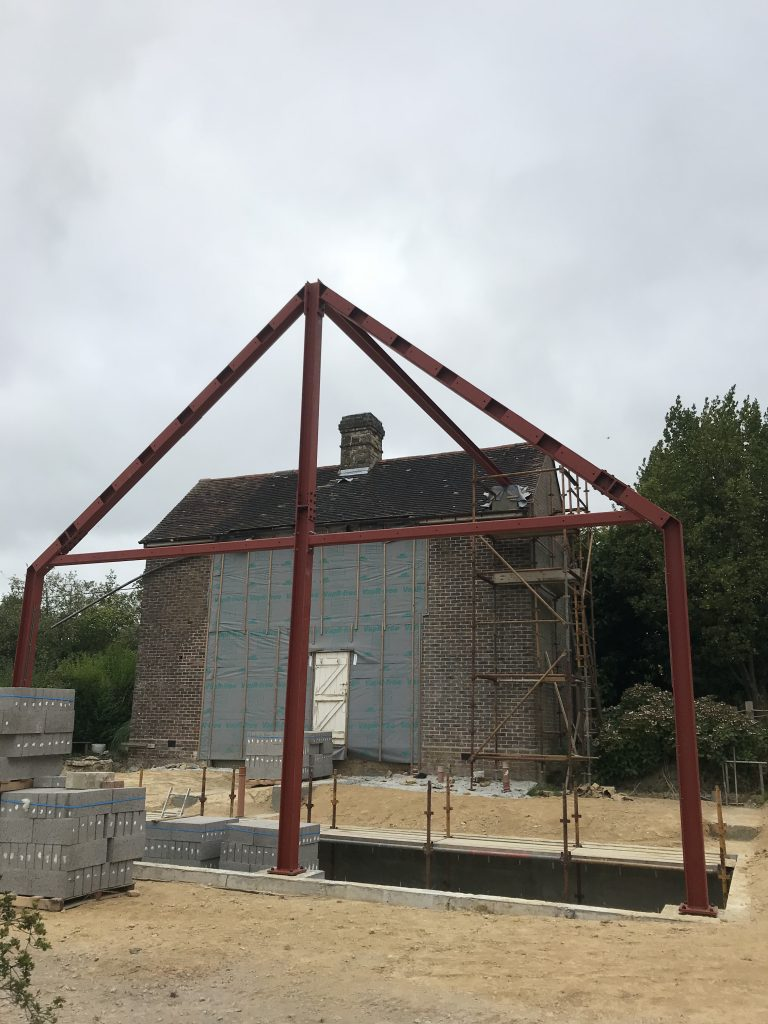 Structural Steelwork in East Sussex, West Sussex, Hampshire, Kent, Surrey, and South London