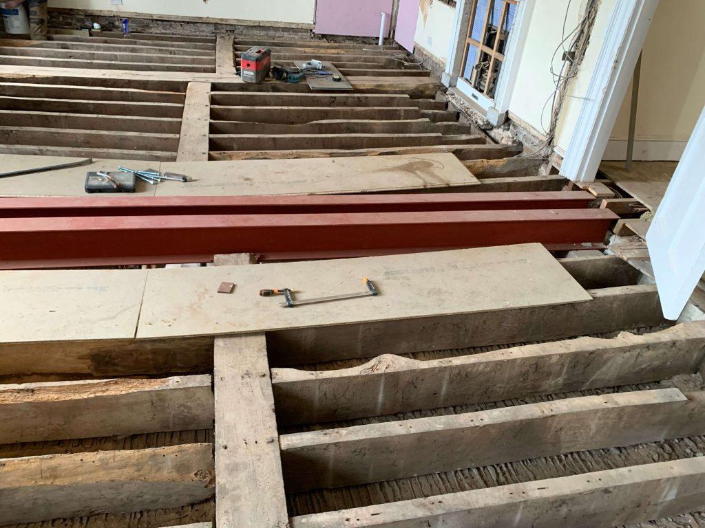 refurbished steelwork