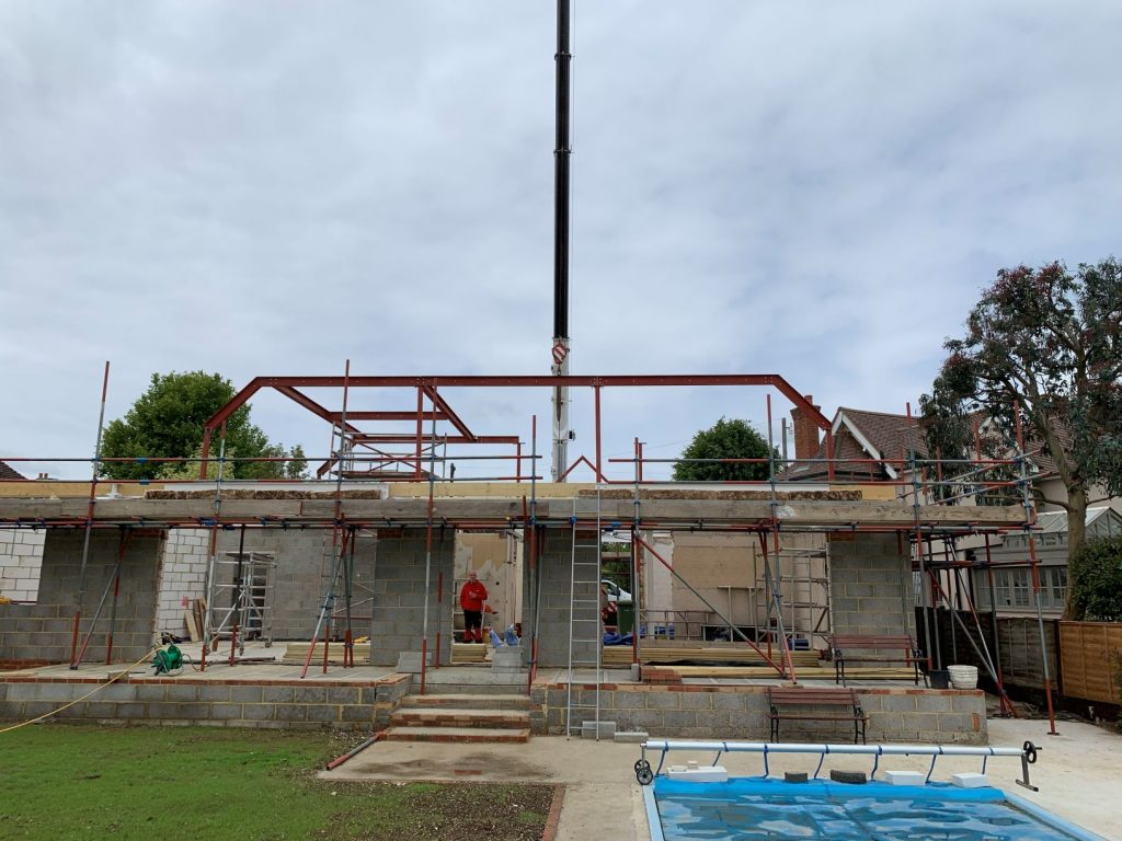 Steelwork for a Residential Property Conversion