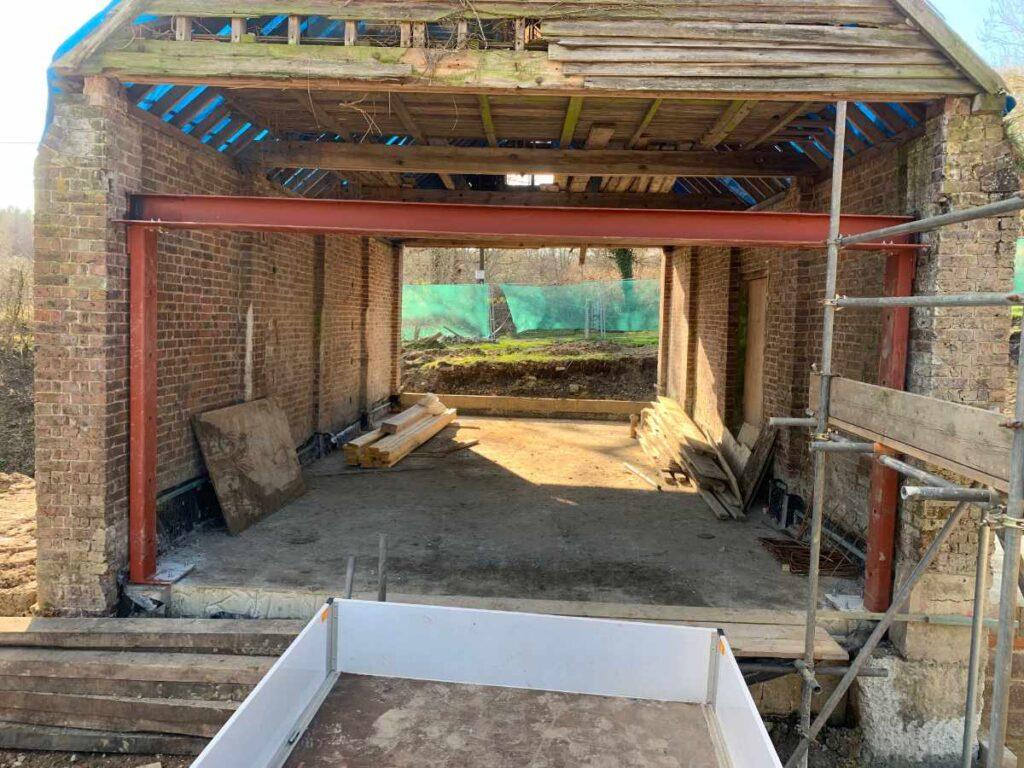 Old Coachhouse Refurbishment in Hartfield
